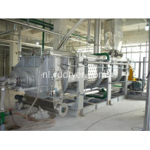 Continubediening Polyester Slices Paddle Dryer Machine
